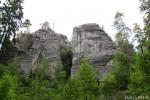 Vycházka ve skalách a chrti, květen 2008
